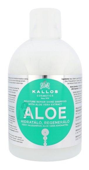 Kallos Cosmetics Aloe Vera Moisture Repair Shine šampoon 1000 ml
