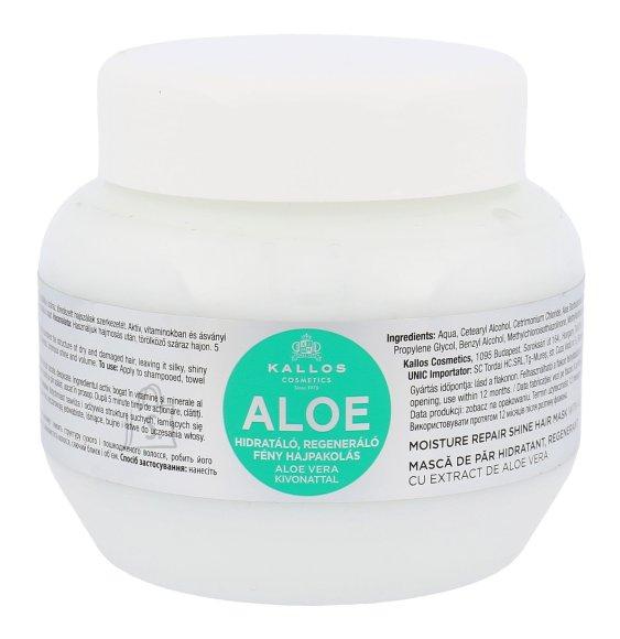 Kallos Cosmetics Aloe Vera Moisture Repair Shine Hair Mask juuksemask 275 ml