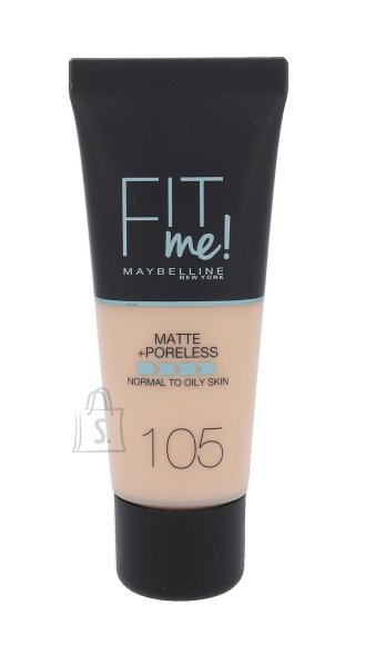 Maybelline Fit Me Matte + Poreless jumestuskreem, 105 Fair Ivory