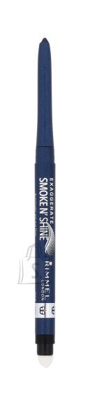 Rimmel London Exaggerate Smoke N Shine geeljas silmalainer 0.28 g sinine