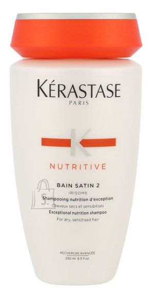 Kérastase Nutritive Bain Satin 2 Irisome Dry Sensitised Hair šampoon 250 ml