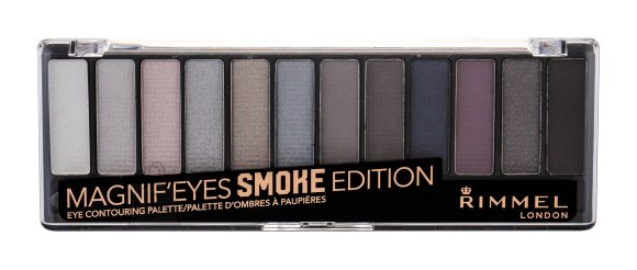 Rimmel London Magnif'eyes lauvärvi palett: Smoke Edition
