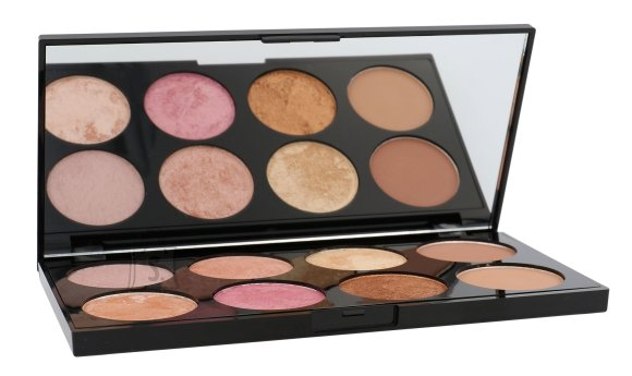 Makeup Revolution London Ultra Blush põsepuna ja kontuurimise palett: Golden Sugar