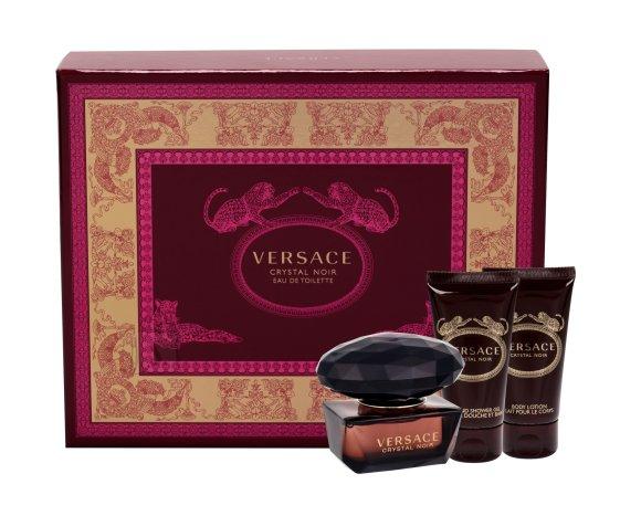 Versace Crystal Noir lõhnakomplekt EdT 50 ml