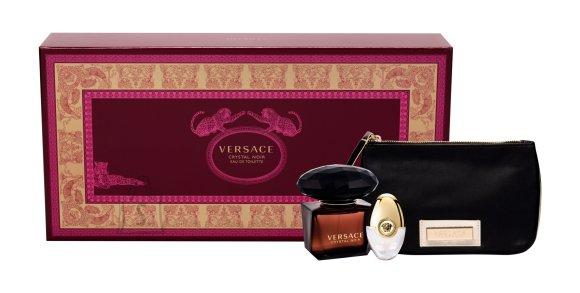 Versace Crystal Noir lõhnakomplekt EdT 90 ml
