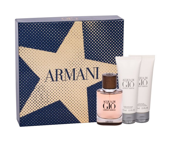 Giorgio Armani Acqua di Gio Absolu lõhnakomplekt EdP 40 ml