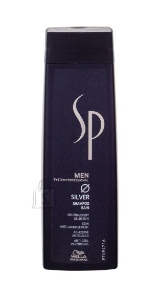 Wella SP Men Silver šampoon 250 ml