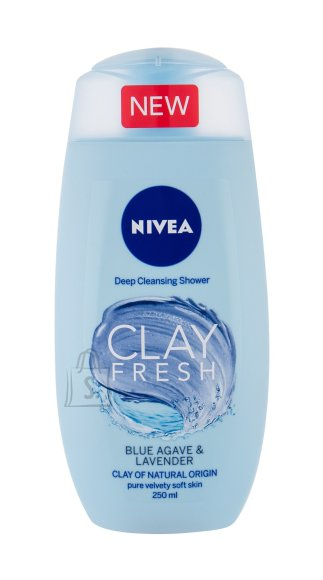 Nivea Clay Fresh Shower Gel (250 ml)