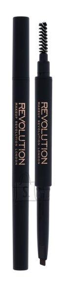 Makeup Revolution London Duo Brow Definer kulmupliiats: Light Brown