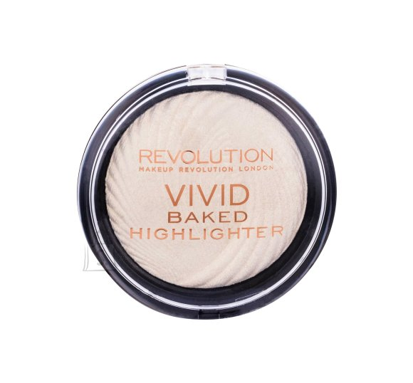 Makeup Revolution London Vivid Baked highlighter: Golden Lights