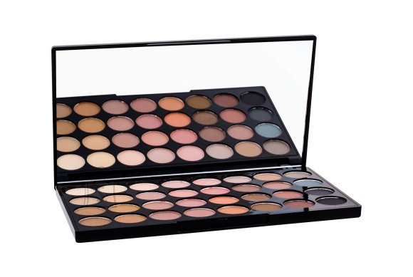 Makeup Revolution London Ultra 32 lauvärvi palett: Flawless Matte