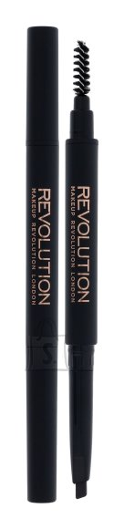 Makeup Revolution London Duo Brow Definer kulmupliiats: Dark Brown