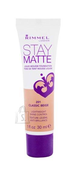 Rimmel London Stay Matte Liquid Mousse jumestuskreem 30 ml Classic Beige