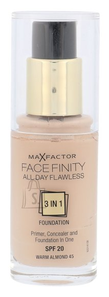 Max Factor Face Finity 3in1 SPF20 jumestuskreem 30 ml
