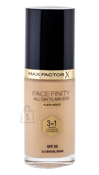Max Factor Face Finity 3in1 Foundation SPF20 jumestuskreem 30 ml