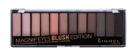 Rimmel London Magnif'eyes lauvärvi palett: Blush Edition