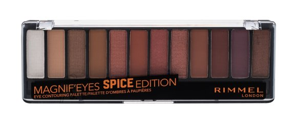 Rimmel London Magnif'eyes lauvärvi palett: Spice Edition