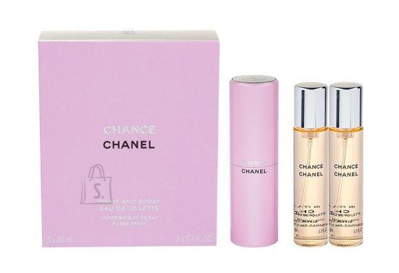 Chanel Chance tualettvesi naistele EdT 3x20ml