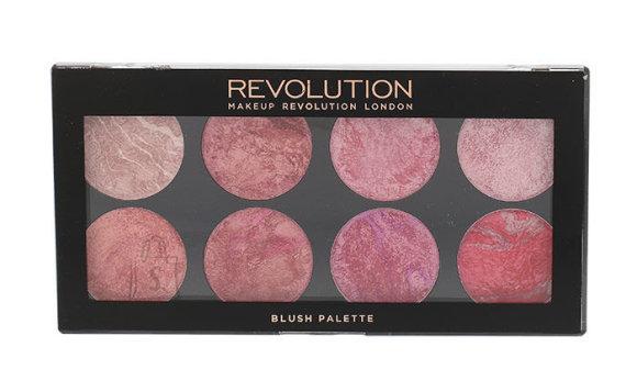 Makeup Revolution London põsepuna ja highlighter'i palett: Blush Queen