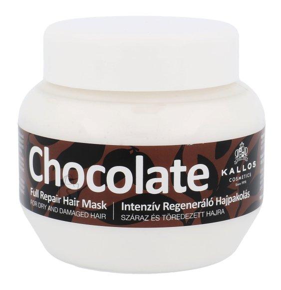 Kallos Cosmetics Chocolate Full Repair juuksemask 275 ml