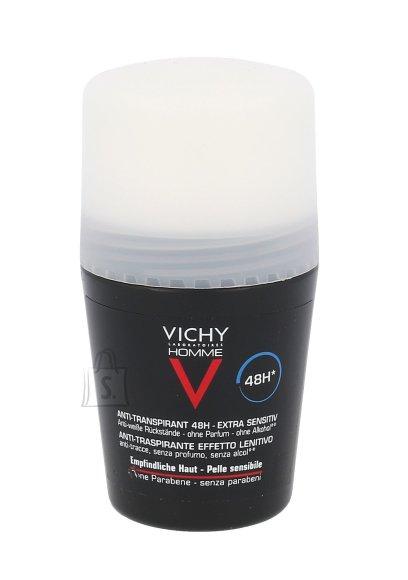 Vichy Homme Deo Antiperspirant Sensitive Roll-on deodorant 50 ml