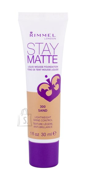 Rimmel London Stay Matte Liquid Mousse jumestuskreem 30 ml Sand
