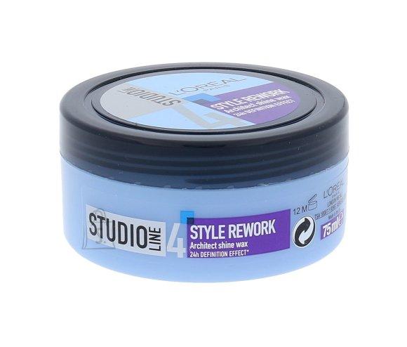L´Oréal Paris Studio Line Style Rework Architect läikega juuksevaha 75 ml