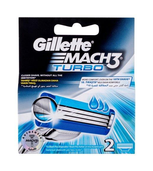 Gillette Mach3 Turbo žiletiterad 2 tk