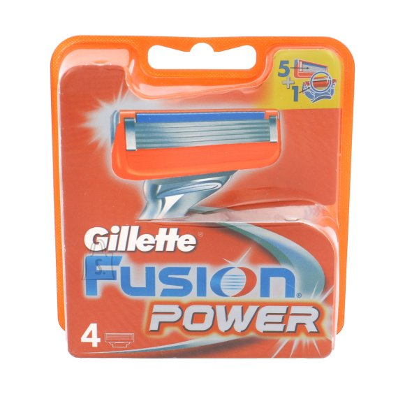Gillette Fusion Power žiletiterad 4 tk