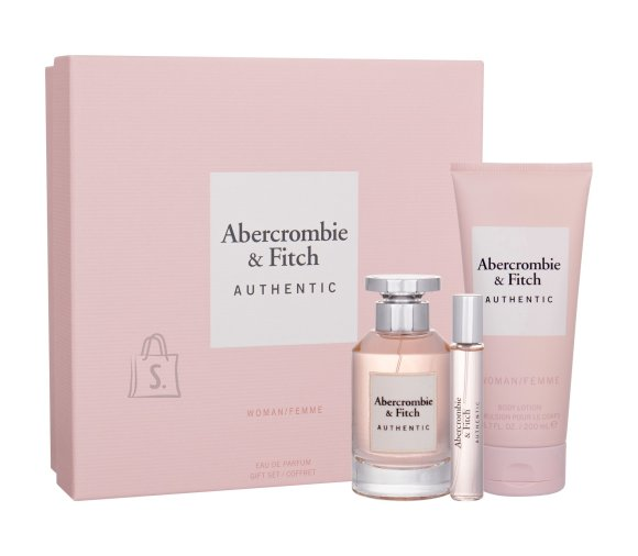 Abercrombie & Fitch Authentic Body Lotion (100 ml)