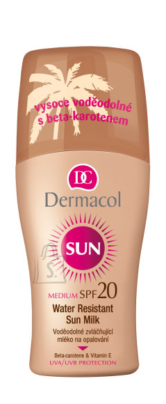 Dermacol Sun Milk Spray SPF20 käikesekaitse sprei 200 ml
