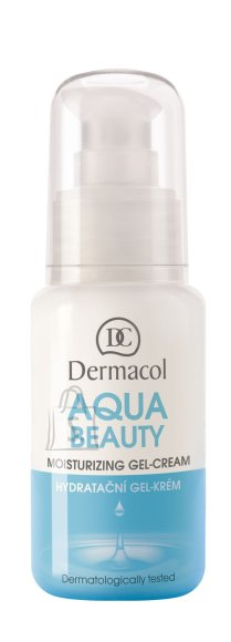 Dermacol Aqua Beauty Moisturizing näogeel-kreem 50 ml
