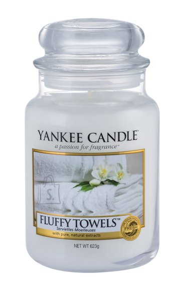 Yankee Candle Fluffy Towels Scented Candle (623 g)