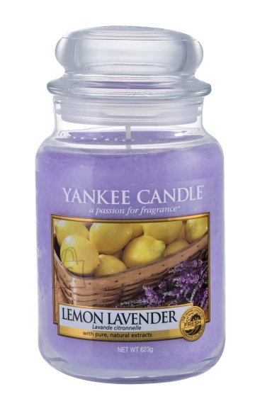 Yankee Candle Lemon Lavender Scented Candle (623 g)