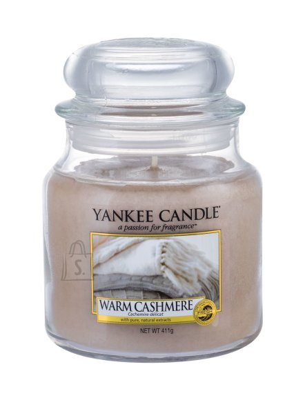 Yankee Candle Warm Cashmere Scented Candle (411 g)