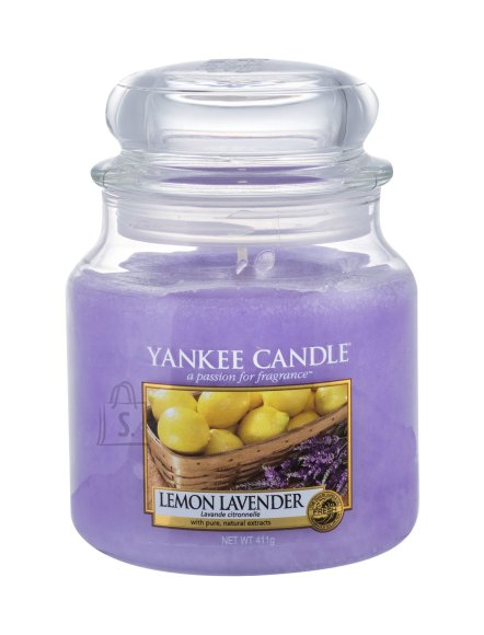 Yankee Candle Lemon Lavender Scented Candle (411 g)
