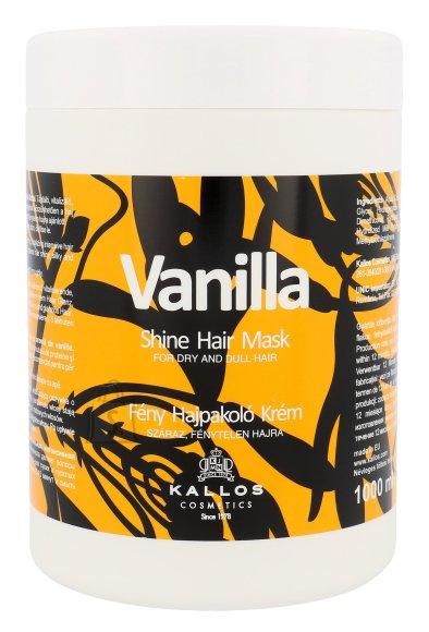Kallos Cosmetics Vanilla Shine juuksemask 1000ml