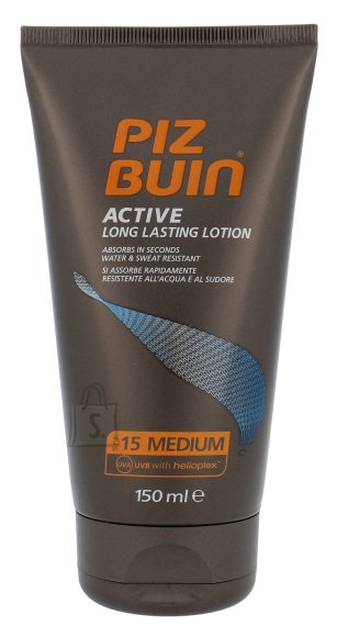 Piz Buin Active Long Lasting Lotion SPF15 päikesekaitse kreem 150 ml