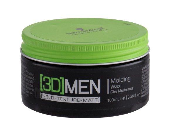 Schwarzkopf Professional 3DMEN Molding Wax modelleerimisvaha 100 ml