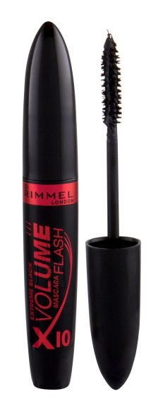 Rimmel London Volume Flash X10 ripsmetušš 8 ml must