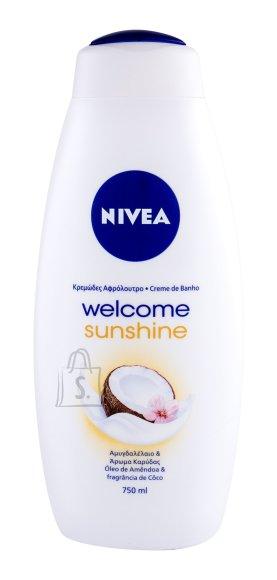 Nivea Welcome Sunshine Shower Gel (750 ml)
