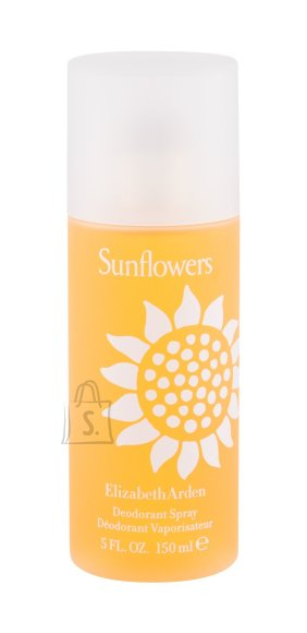 Elizabeth Arden Sunflowers spray deodorant naistele 150ml