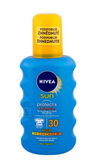 Nivea Sun Protect & Bronze Spray SPF30 päevituskreem 200 ml
