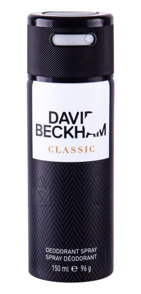 David Beckham Classic deodorant meestele 150ml