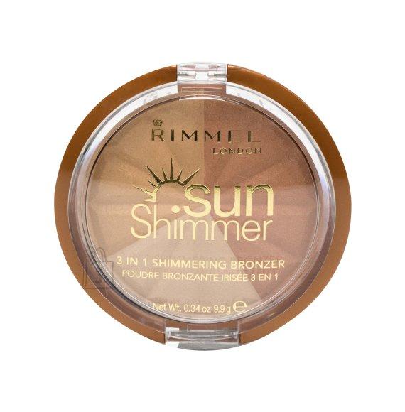 Rimmel London Sun Shimmer 3in1 päikesepuuder 9.9 g
