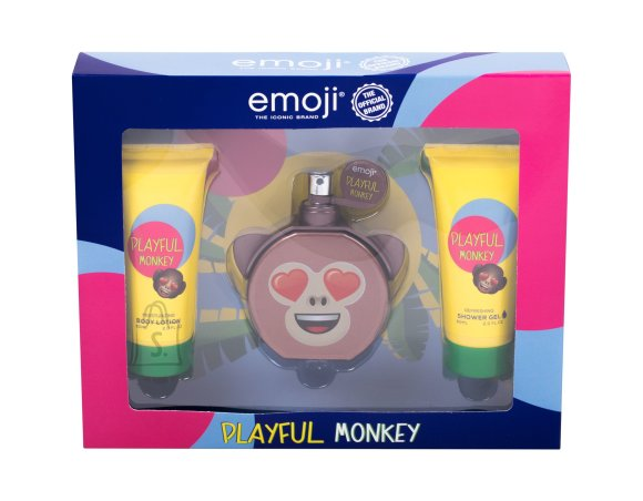 Emoji Playful Monkey Body Lotion (50 ml)