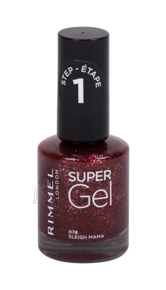 Rimmel London Super Gel Nail Polish (12 ml)