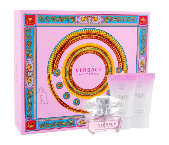 Versace Bright Crystal lõhnakomplekt EdT 50 ml