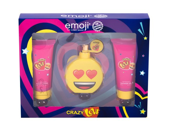 Emoji Crazy Love Body Lotion (50 ml)