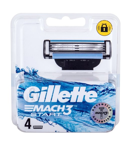 Gillette Mach3 Replacement blade (4 pc)